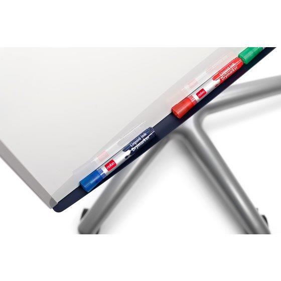 Nobo Classic Nano CleanMagnetic Mobile Easel Steel Height-adjustable 5 Castors W700xH1000mm Ref 1902386