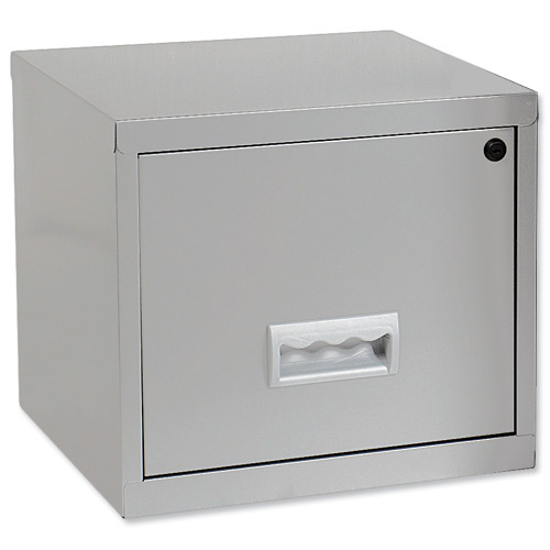 Image for Filing Cabinet Steel 1 Drawer A4 400x400x370mm Ref 599000