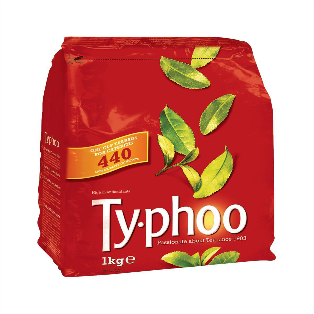 Tea Typhoo Tea Bags Vacuum-packed 1 Cup Ref A01006 Pack 440