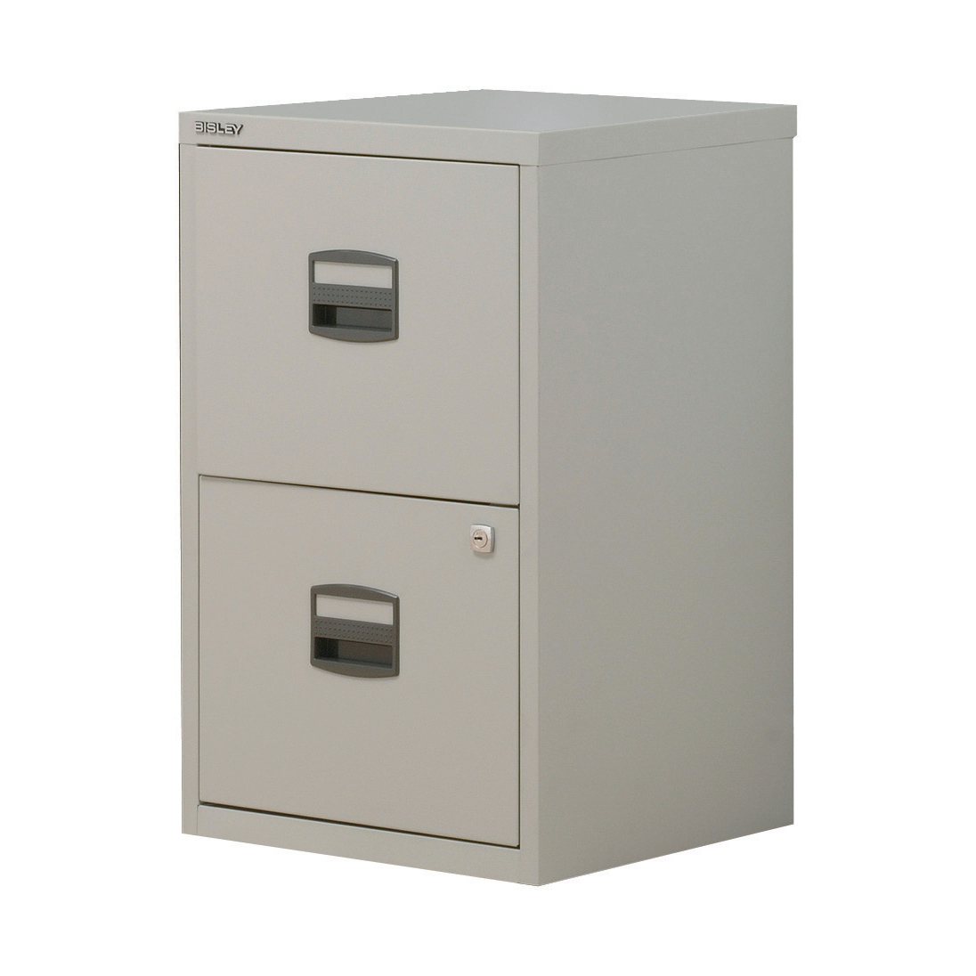 Trexus Soho A4 2 Drawer Cabinet Grey 413x400x672mm Ref