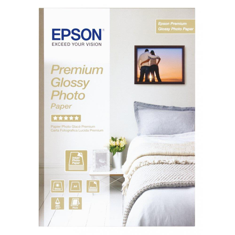 Epson Premium Photo Paper Glossy 255gsm A3plus Ref C13S041316 20 Sheets
