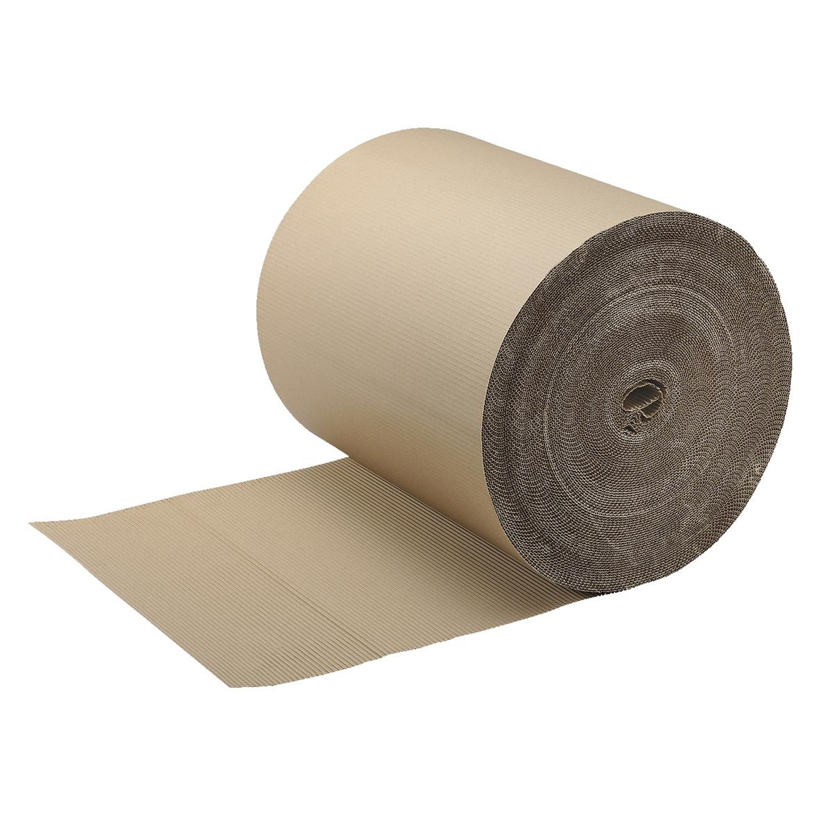 Paper Roll Corrugated Paper 100 percent Recycled Single Faced Roll 900mmx75m