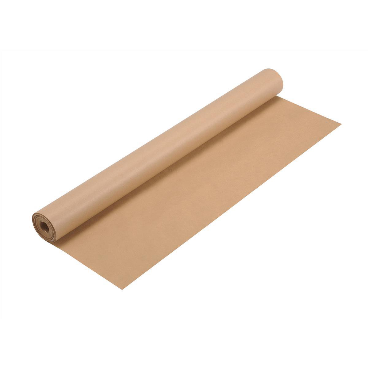 Paper Roll Kraft Wrapping Paper Roll 70gsm 750mmx25m Brown