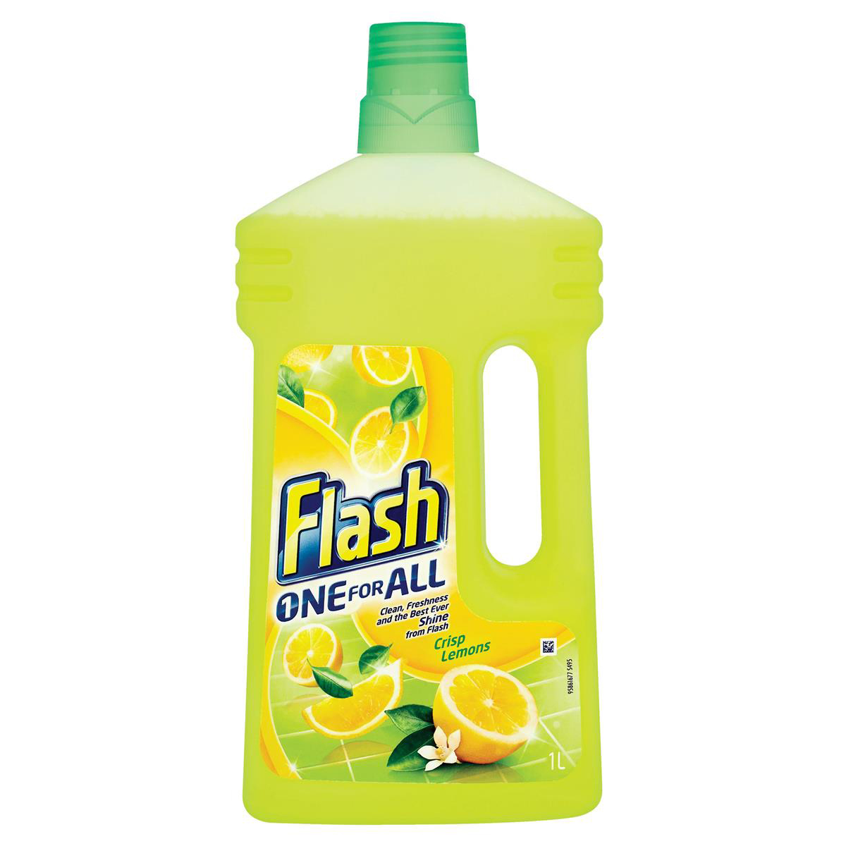 Flash All Purpose Cleaner for Washable Surfaces 1 Litre Lemon Fragrance Ref 1014073