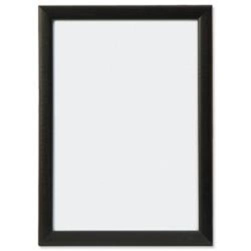 Certificate / Photo Frames 5 Star Facilities Snap Picture or Certificate Frame Polystyrene Front Back-loading A3 420x297mm Black