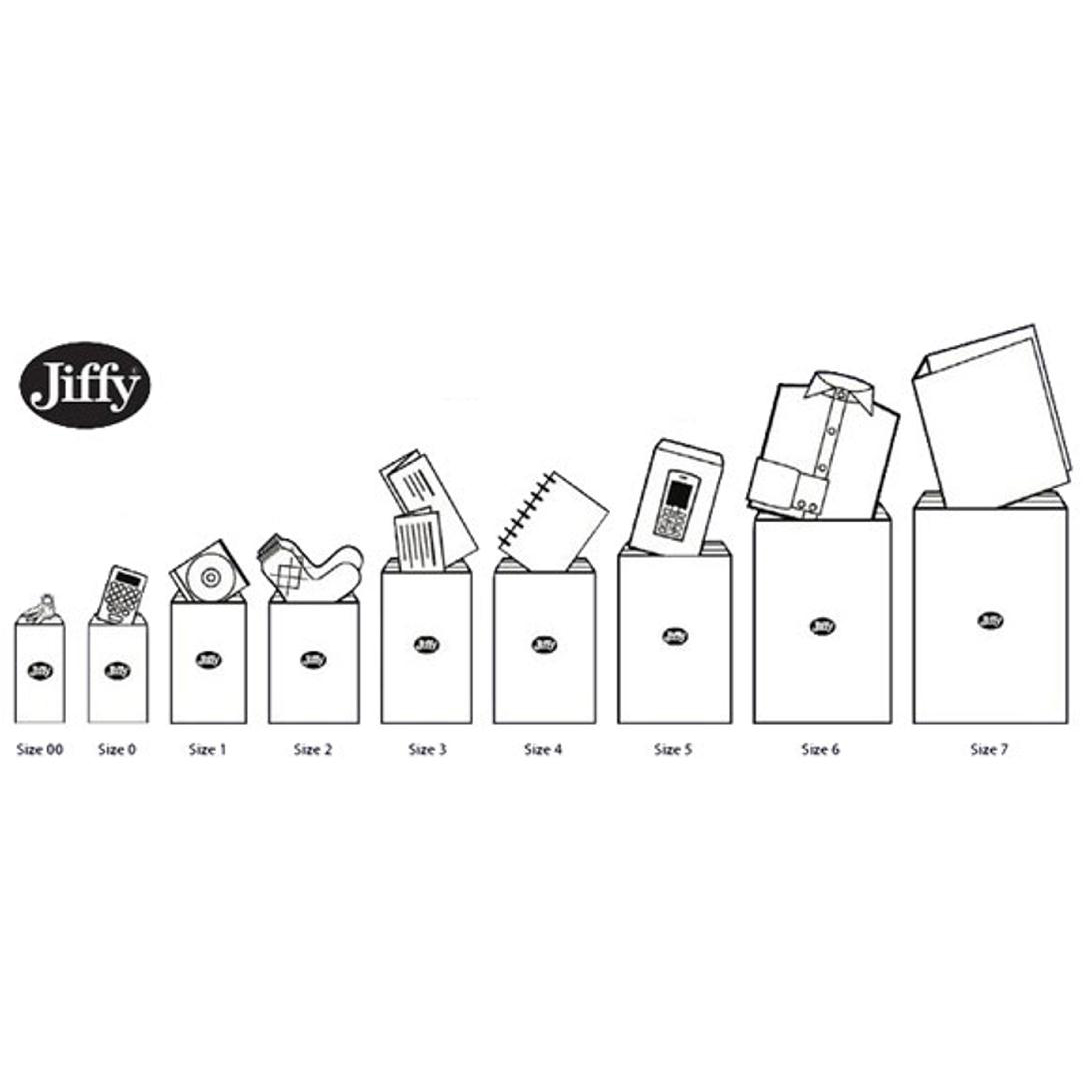 Jiffy Size 2 Gold 205x245mm AirKraft Bag JL-GO-2 Pack of 100