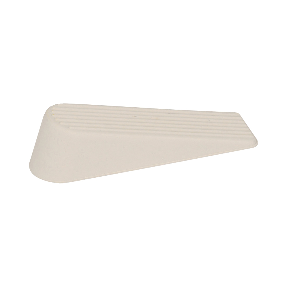 Door Wedge Rubber White Pack 2