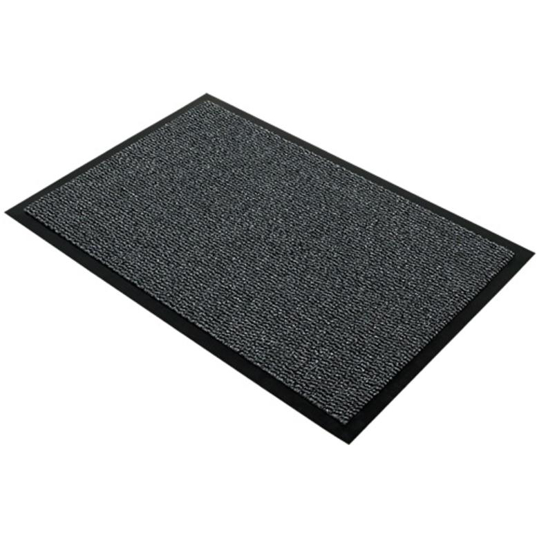 Indoor Doortex Advantagemat Door Mat for Dust & Moisture Polypropylene 1200x1800mm Anthracite Ref FC49180DCBWV