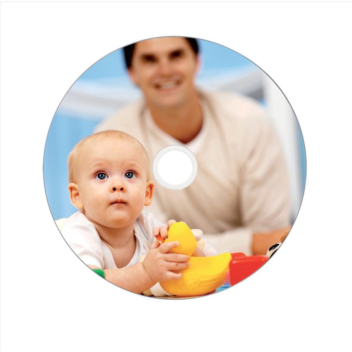 Image for Verbatim CD-R Recordable Disk Inkjet Printable on Spindle 52x Speed 80min 700Mb Ref 43438 [Pack 50]