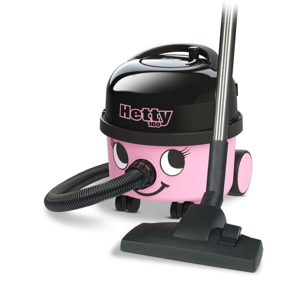 Vacuum Cleaners & Accessories Numatic Hetty Vacuum Cleaner 620W 6 Litre 7.5kg W315xD340xH345mm Pink Ref 902289