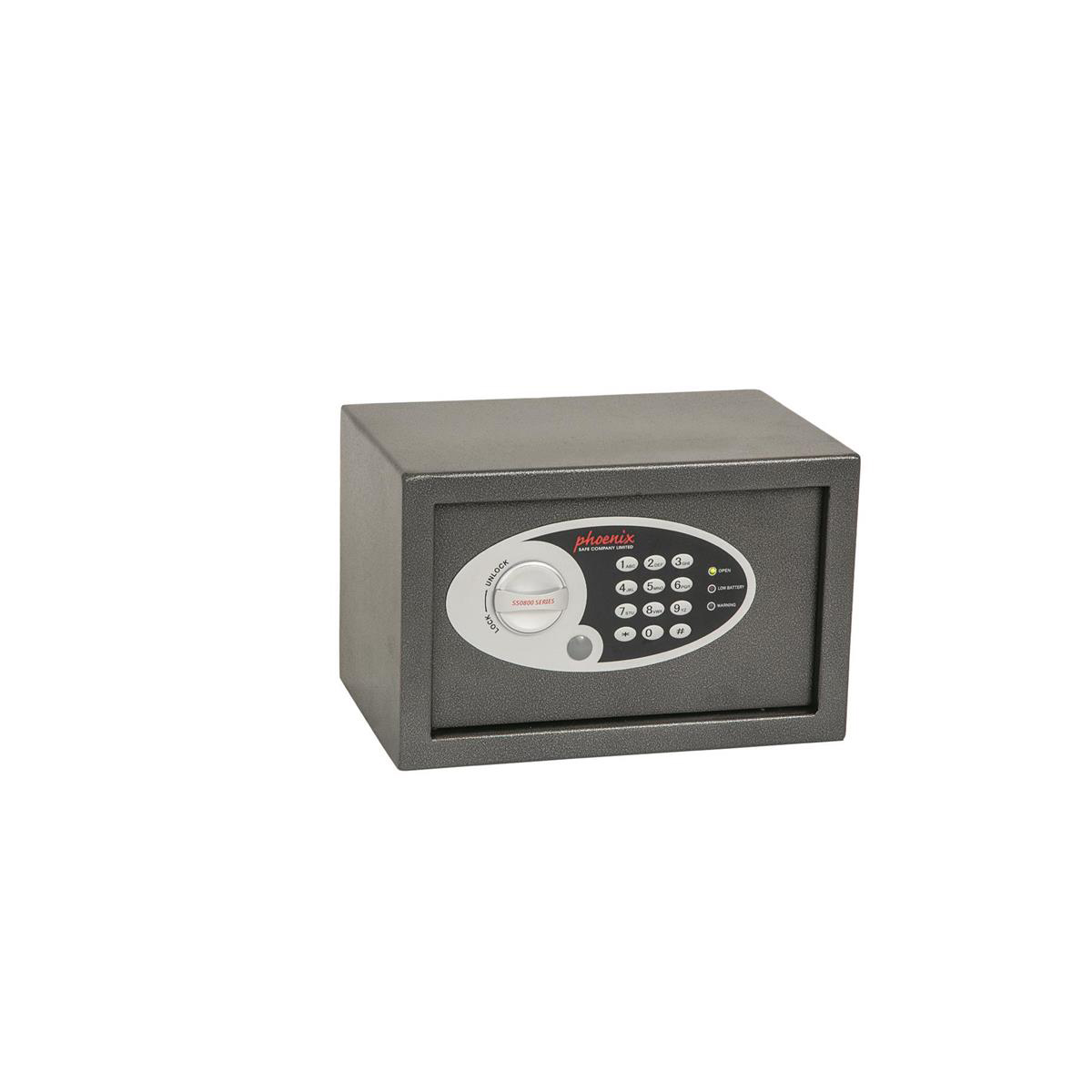 Phoenix Compact Safe Home or Office Electronic Lock 10L Capacity 6kg W310xD200xH200mm Ref SS0801E