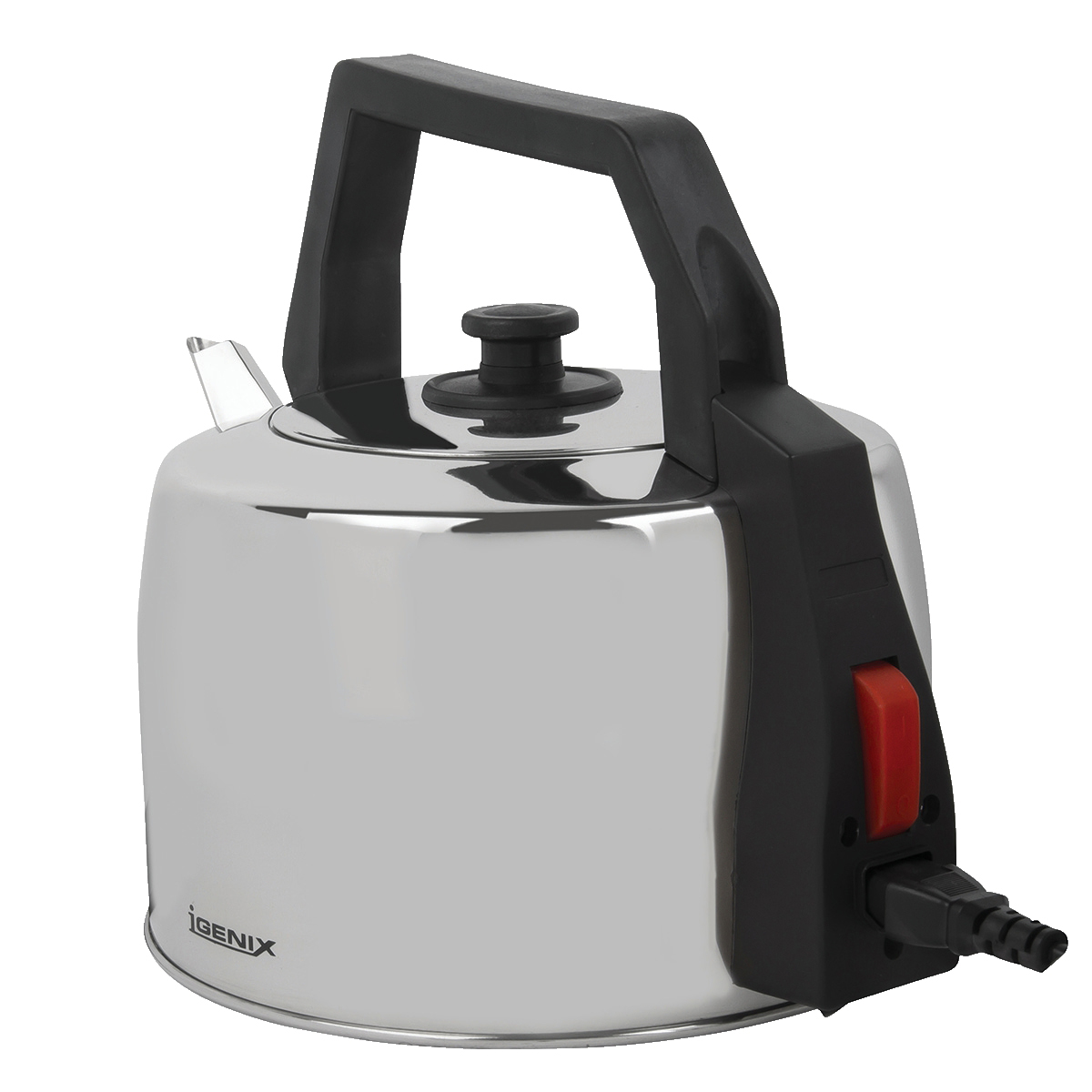 Kitchen Appliances Igenix Catering Kettle Corded 2200W 3.5 Litre Stainless Steel Ref IG4350