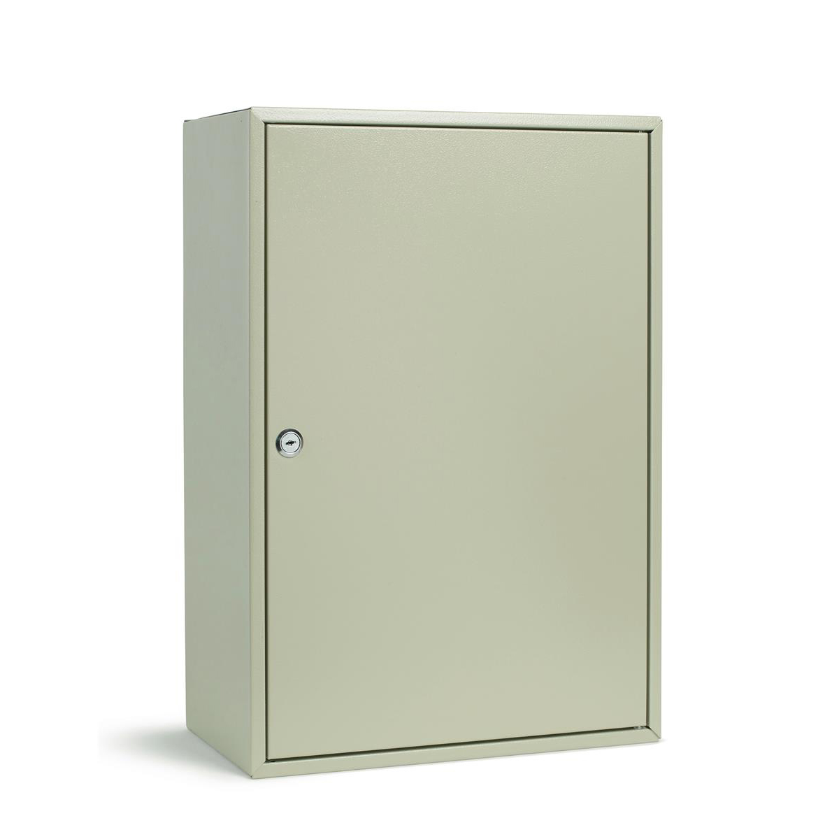 Key cabinets or organizers Key Cabinet Steel Lockable With Wall Fixings Holds 300 Keys Grey