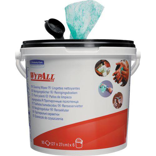 Laundry Basket Wypall Kimtuf Hand Cleaning Wipes Bucket Ref 7775 90 Wipes