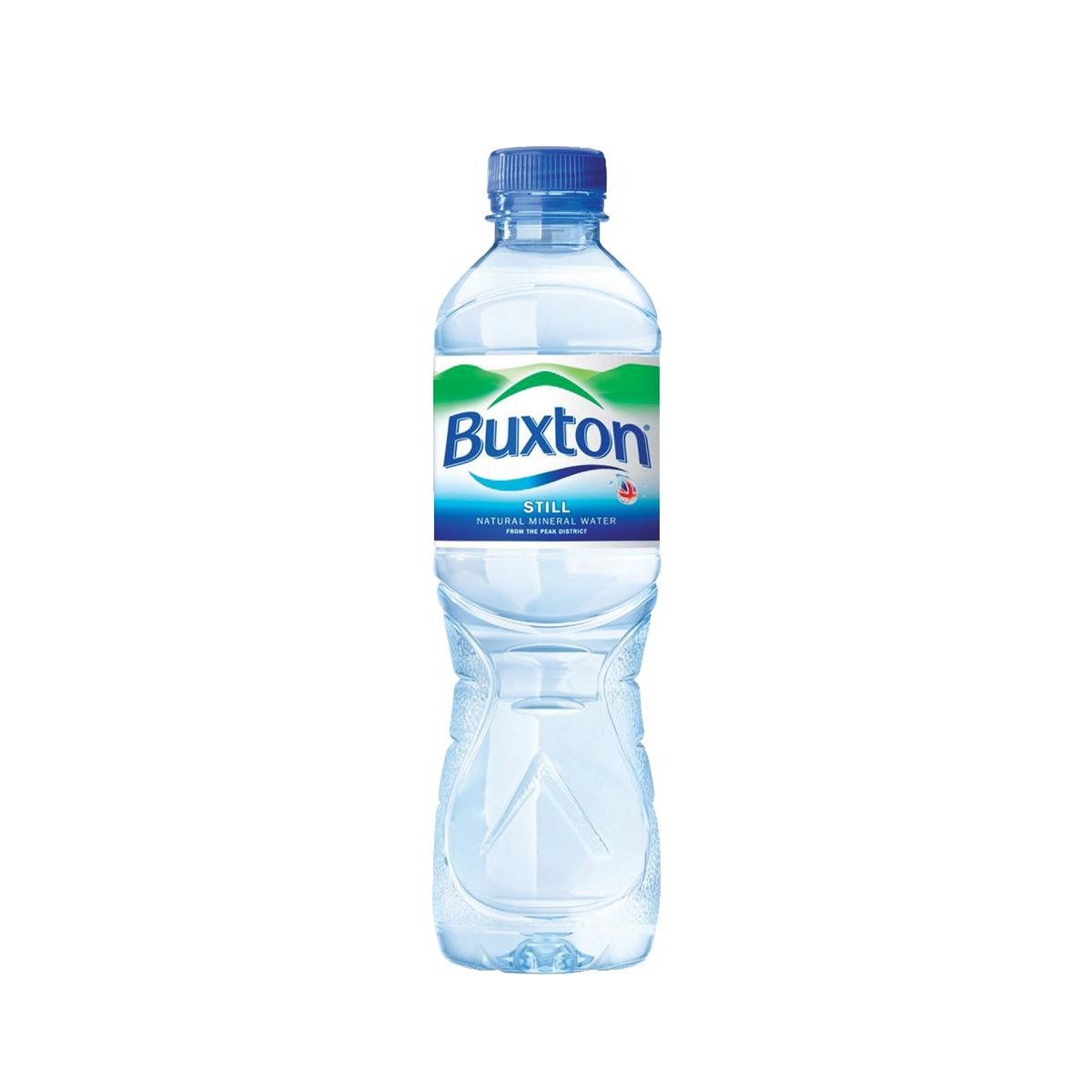 Cold Drinks Buxton Natural Mineral Water Still Bottle Plastic 500ml Ref 742887 Pack 24