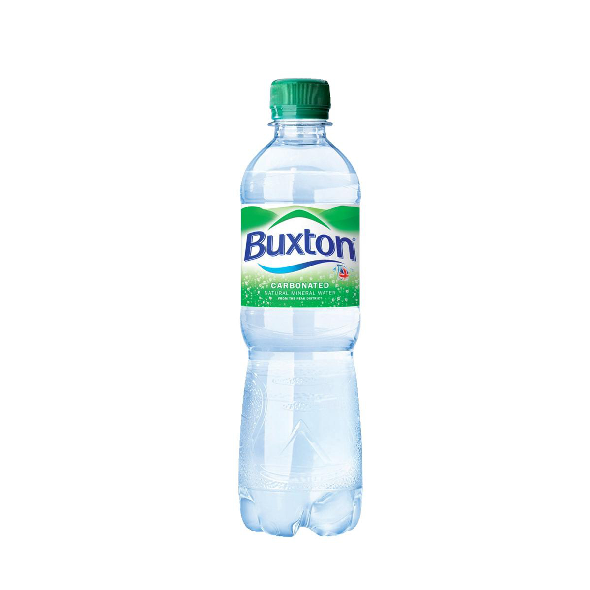 Buxton Natural Mineral Water Sparkling Bottle Plastic 500ml Ref 742895 Pack 24