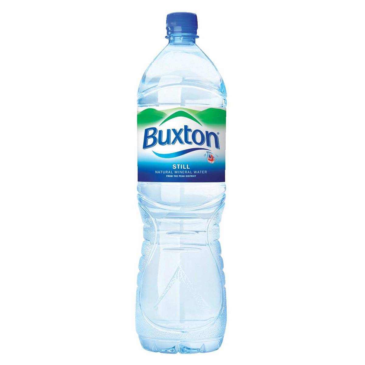 Cold Drinks Buxton Natural Mineral Water Still Bottle Plastic 1.5 Litre Ref 742900 Pack 6