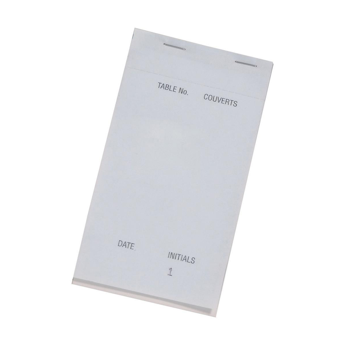 Duplicate Pad Carbonless Perforated Numbered 1-50 95x165mm Pack 50