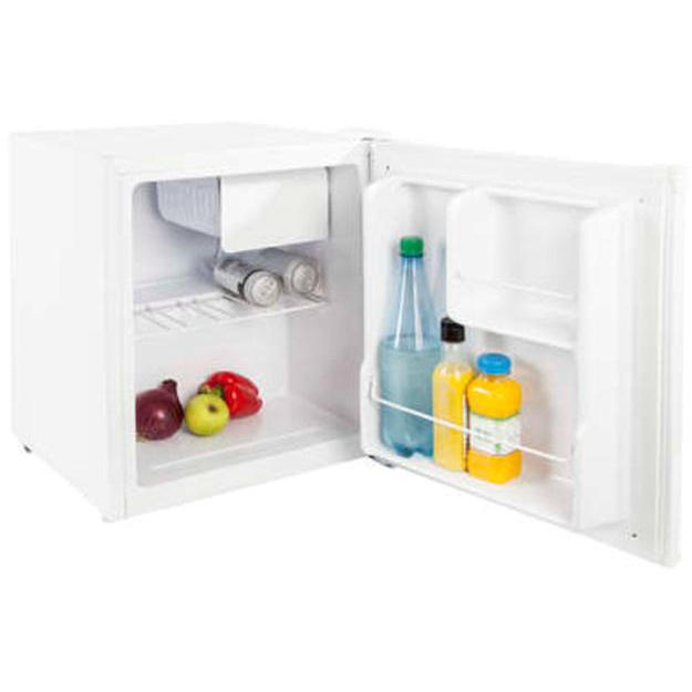 Compact Counter Top Refrigerator With Ice Compartment A+ Rated 42 Litre 17kg White