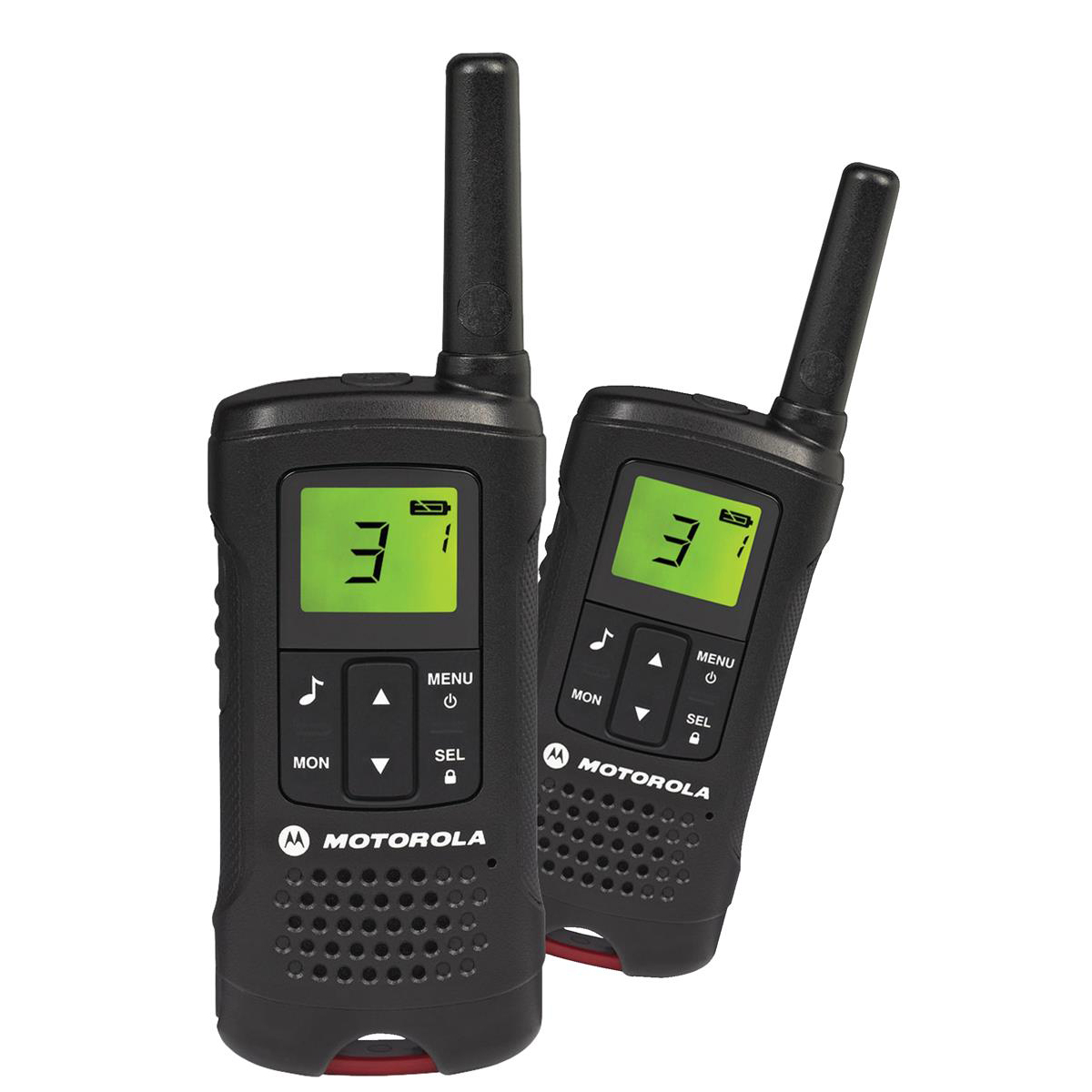Motorola TLKR-T60 2-way Radios Band PMR446 8 Channels 121 Codes Range 8km Ref 50046 Pair