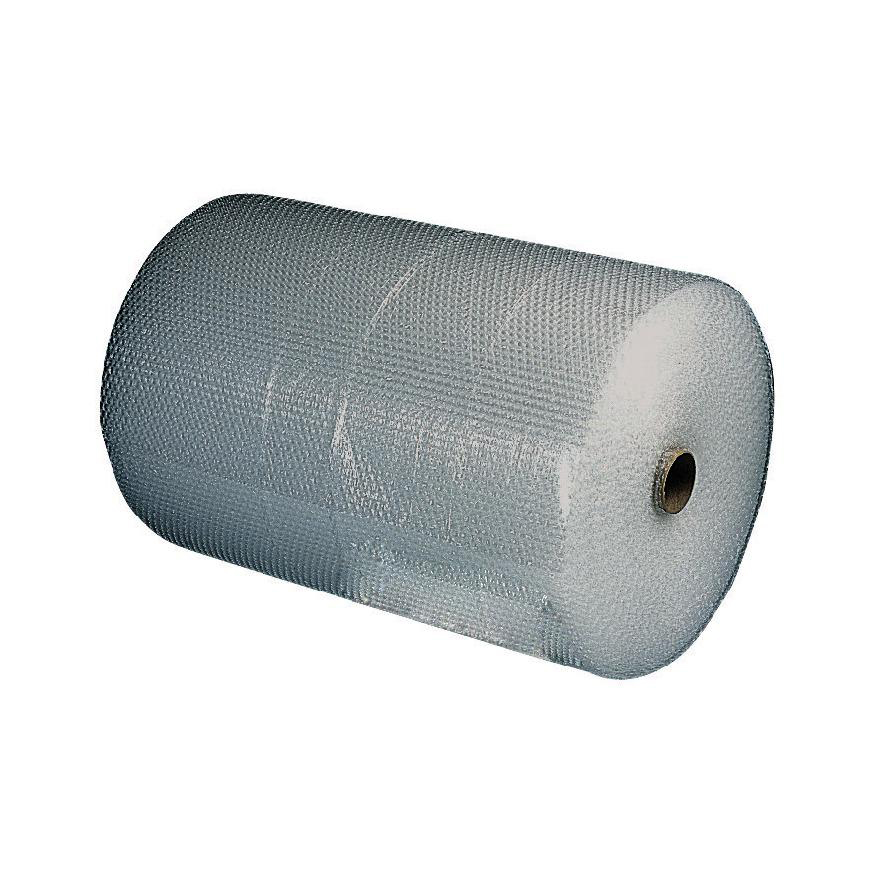 Bubble Wrap Jiffy Bubble Film Roll Bubbles of Diam. 10mmxH5mm 750mmx75m Clear Ref JB-S20L-0751