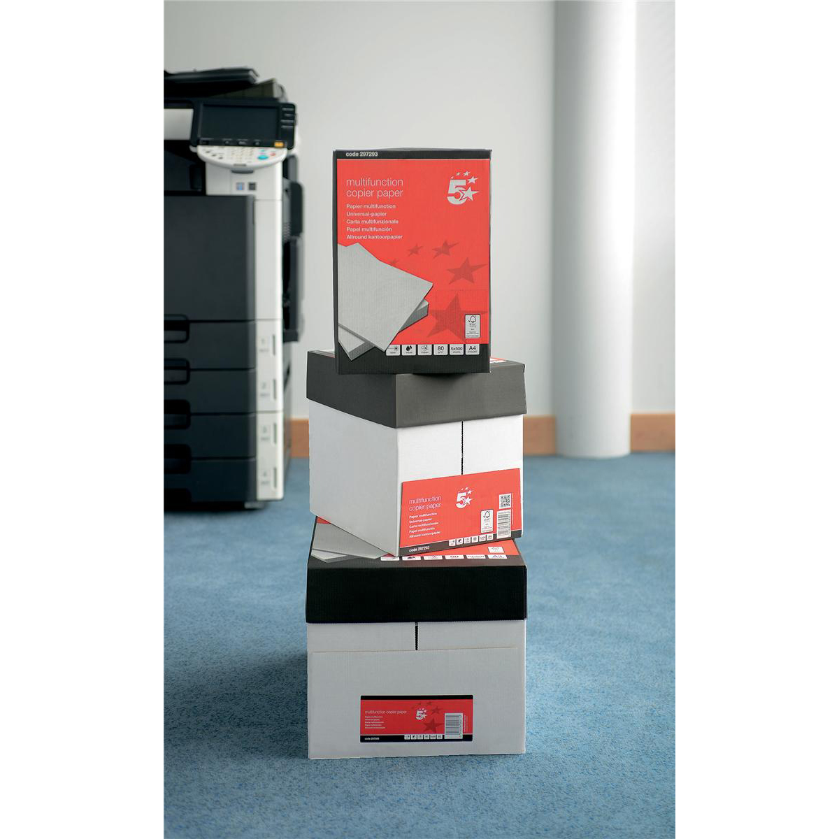 5 Star Office A4 Paper 80gsm 240 x 500 Sheets