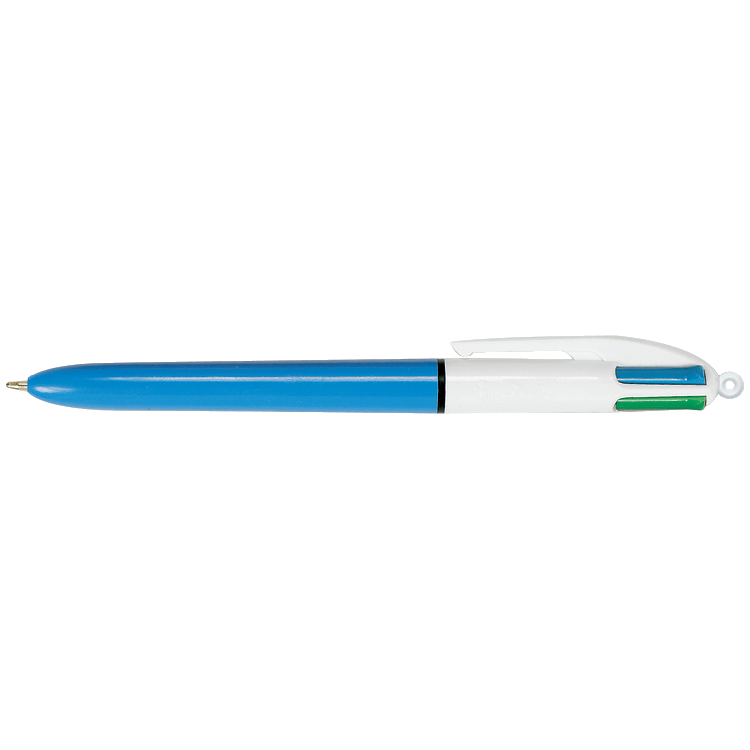 Bic 4-Colour Ball Pen Blue Black Red Green Ref 802077/801867 [Pack 144] [Bulk Pack] Jan-Dec 2019