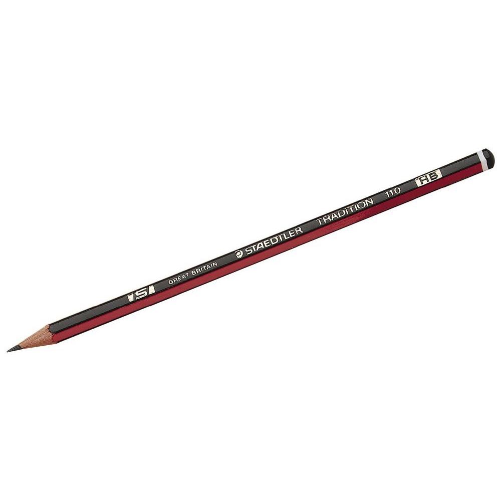 Staedtler 110 Tradition Pencil Cedar Wood HB Ref 110-HB [Pack 144] [Bulk Pack] Jan-Dec 2019