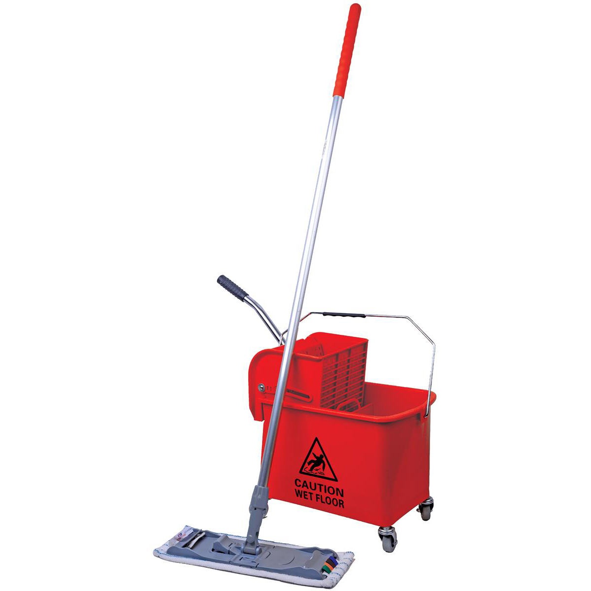 Robert Scott & Sons Microspeedy Mopping System Starter Kit Red Ref 101284 - Red KIT