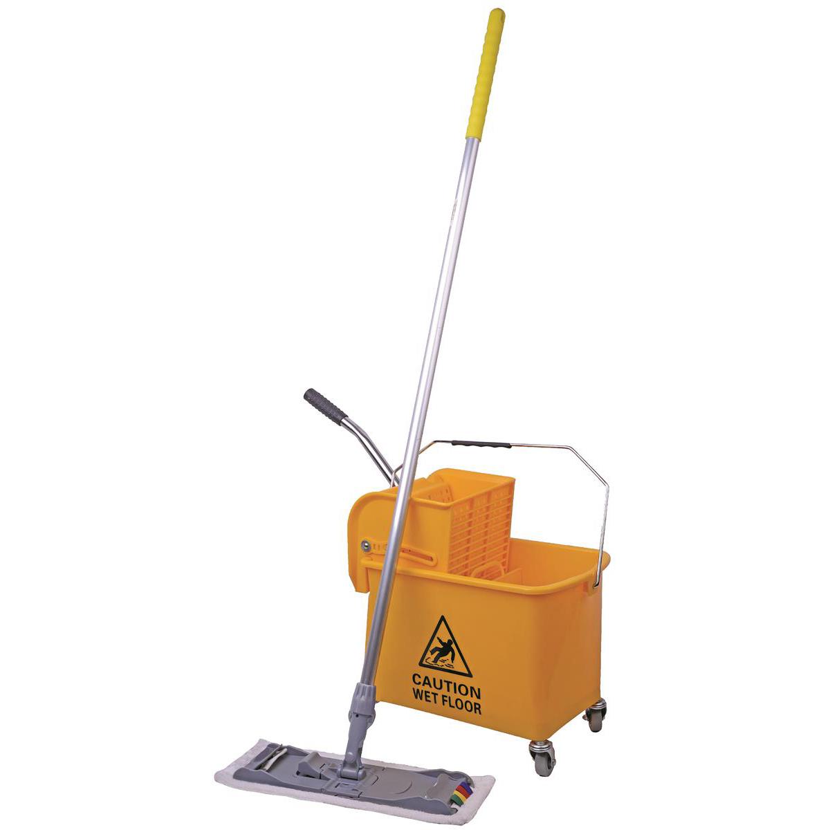Robert Scott & Sons Microspeedy Mopping System Starter Kit Yellow Ref 101284 - Yellow KIT