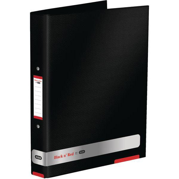 Black N Red Ring Binder Ref 400051510-XX3 [2 For 1] Jan-Dec 2018