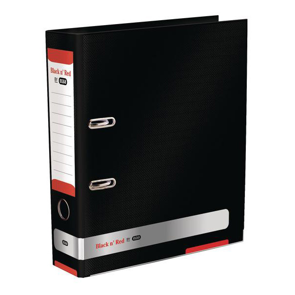 Black N Red Lever Arch File Ref 400051488 [2 For 1] Jan-Dec 2018