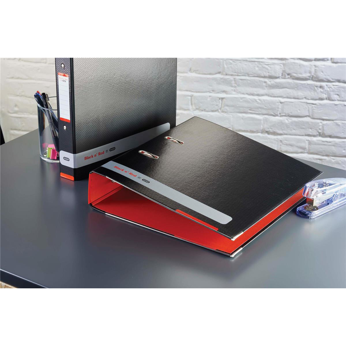 Black N Red Lever Arch File Ref 400051488 [2 For 1] Jan-Dec 2019
