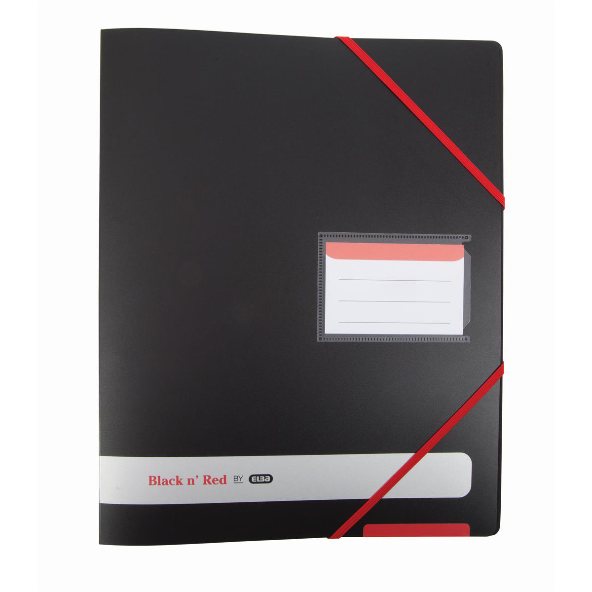 Black N Red Polypropylene Ring Binder Ref 400078863 [2 For 1] Jan-Dec 2019