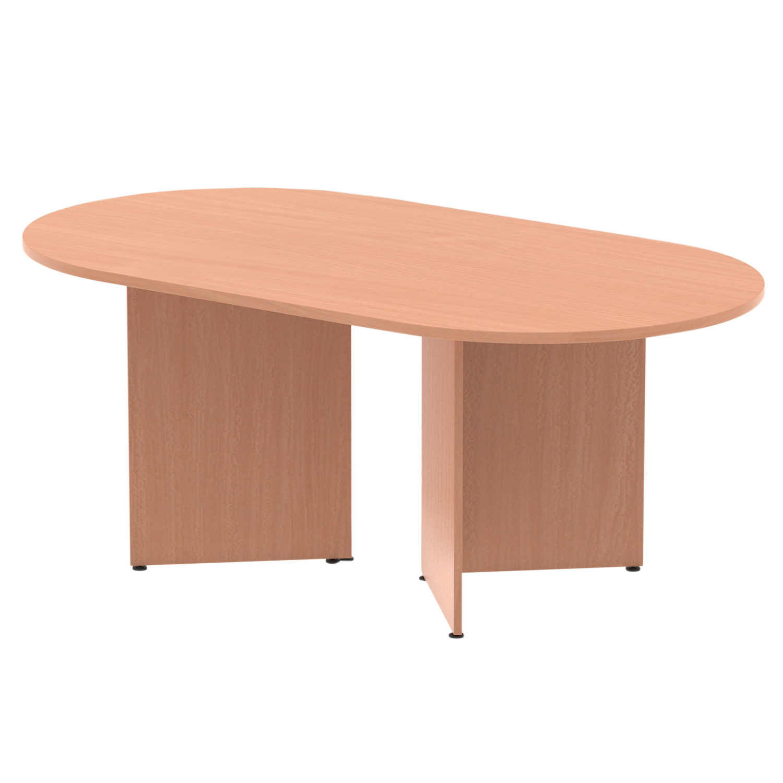 Trexus Boardroom Table 1800x1200x730mm Arrowhead Beech Ref MI002914