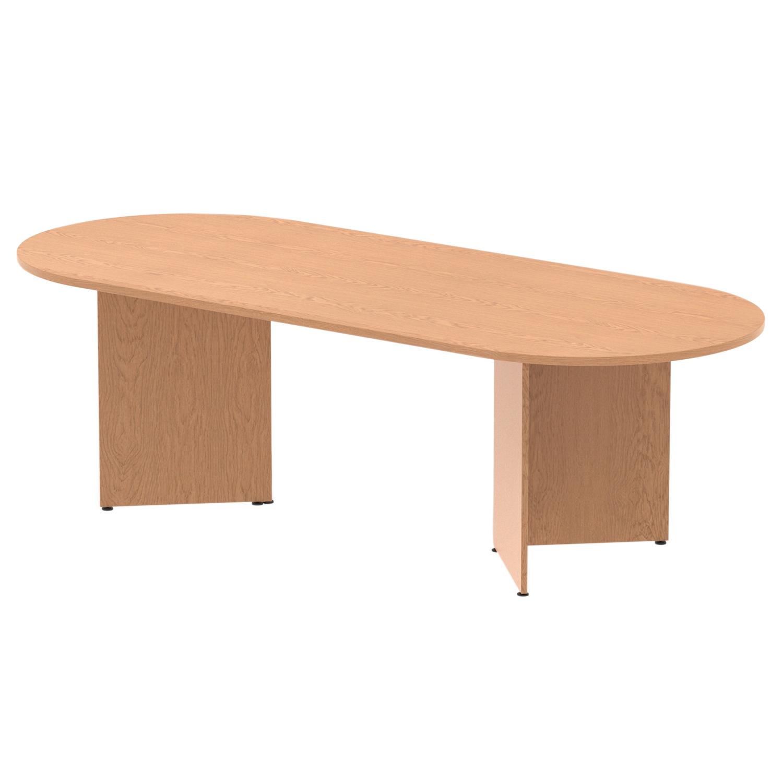 Trexus Boardroom Table 2400x1200x730mm Arrowhead Oak Ref MI002977
