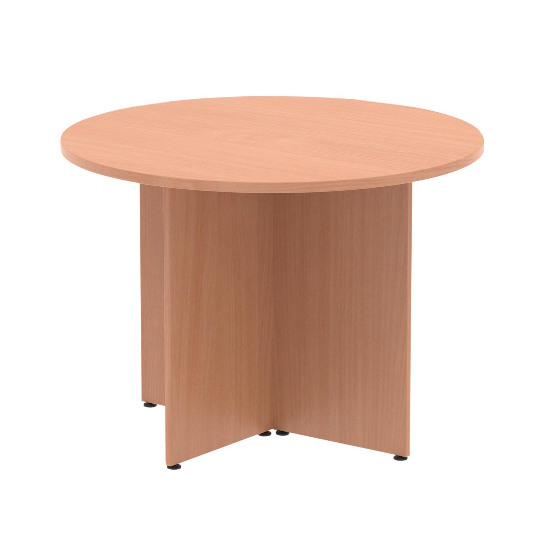 Trexus Circular Table 1200mm Arrowhead Beech Ref MI002911