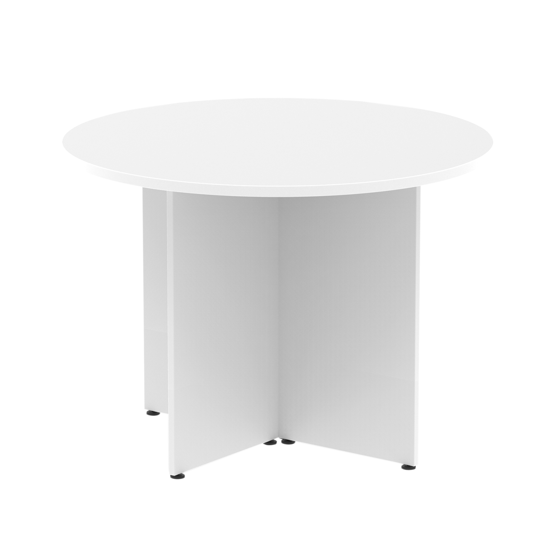 Trexus Circular Table 1200mm Arrowhead White Ref MI002941