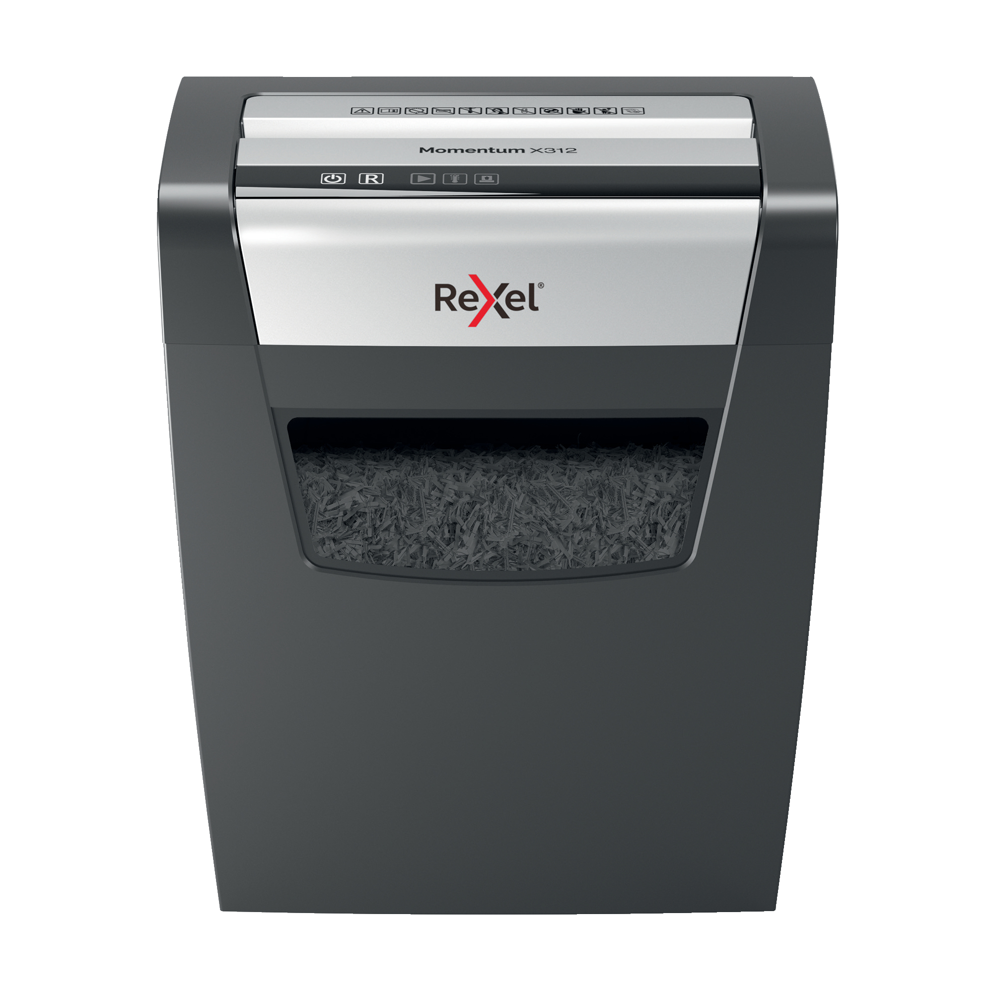 Paper Shredders Rexel Momentum X312 Shredder Cross Cut P-3 Ref 2104572