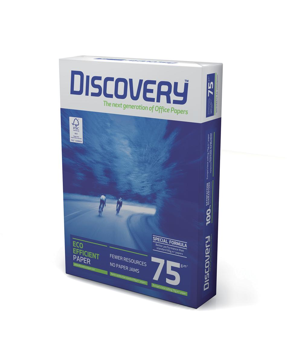 Image for Discovery Everyday Paper Ream-Wrapped A3 75gsm White Ref NDI0750007 [500 Sheets]