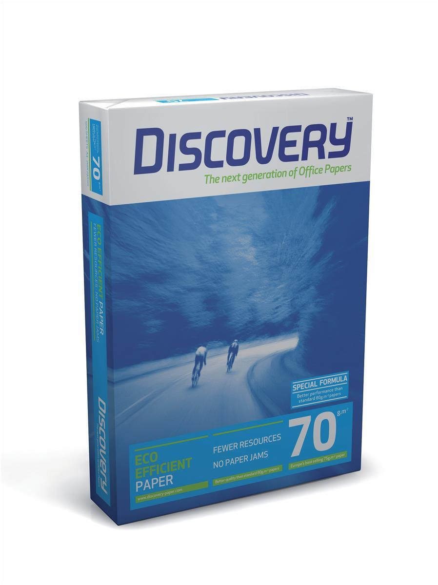 Image for Discovery Everyday Paper Ream-Wrapped A4 70gsm White Ref NDI0700025 [5 x 500 Sheets]