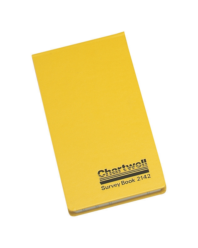 Image for Chartwell Survey Book Field Weather Resistant Top Opening 80 Leaf 106x165mm Ref 2206Z