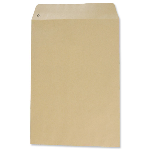 Image for Basildon Bond Envelopes Pocket Peel and Seal 90gsm Manilla C4 Ref C80191 [Pack 250]