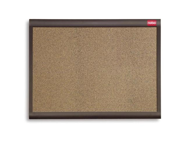 Nobo Elipse Personal Designer Noticeboard Cork with Plastic Frame W900xH600mm Ref QBDC9055