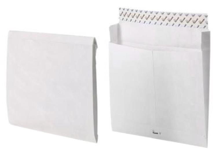 Tyvek Mailing Envelope for Storing Lever Arch Files H318xW326xD68mm Ref 67158 [Pack 50]