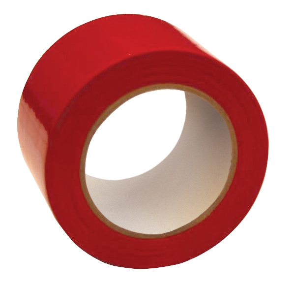 Image for Floor Marking Tape Heavy Duty Red 75mmx33m Red