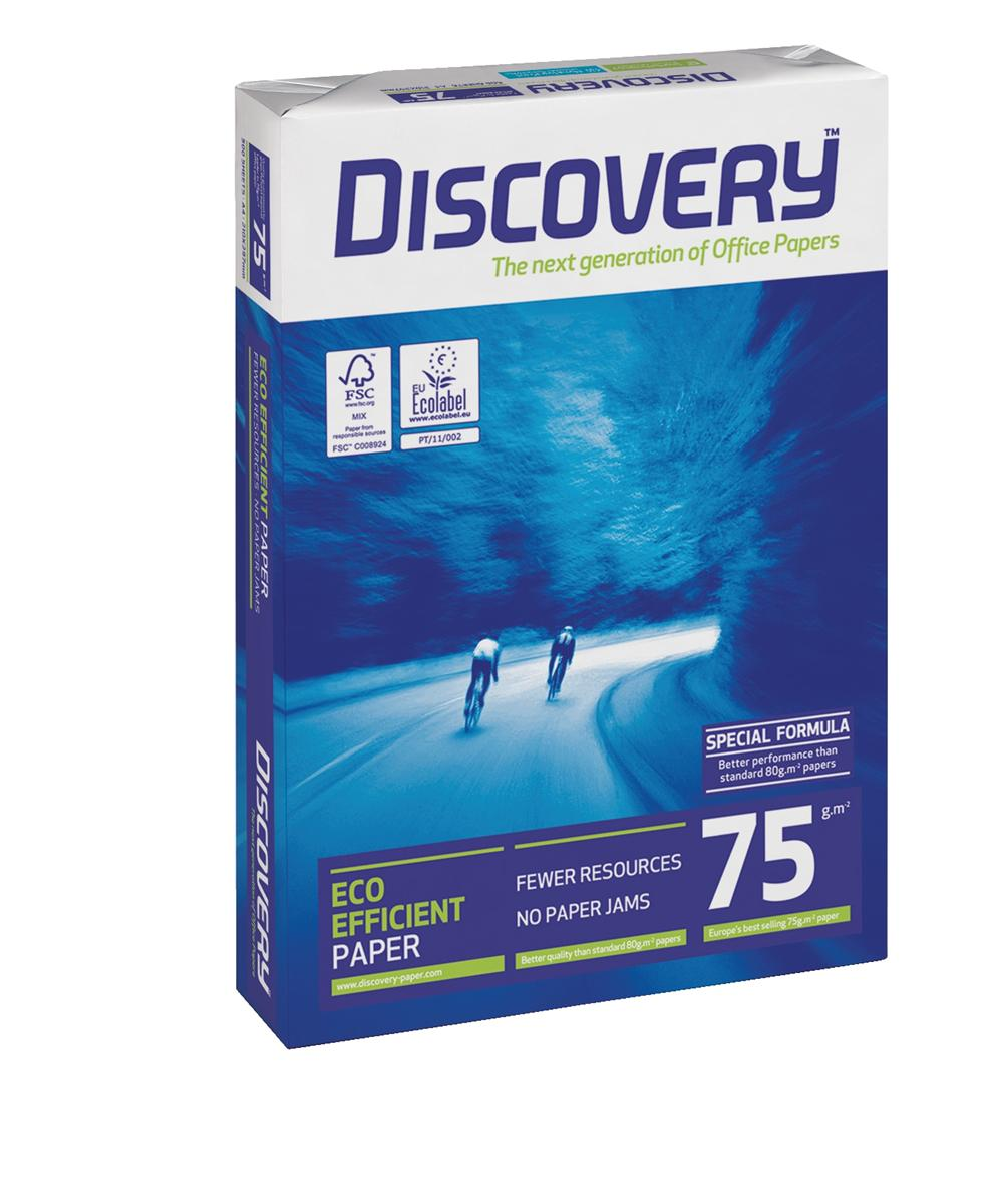 Image for Discovery Everyday Paper A4 75gsm White Ref DIS0750073 [5 x 500 Sheets]
