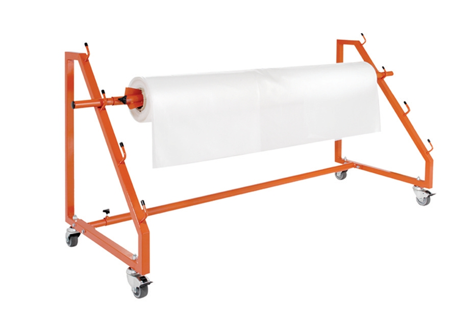 Image for Adpac Polythene Shrink Film Dispenser on Castors Capacity 3 Rolls W2000xD660xH870mm Ref PFD/1