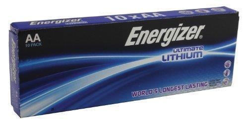 Image for Energizer Ultimate Battery Lithium LR06 1.5V AA Ref 639753 [Pack 10]