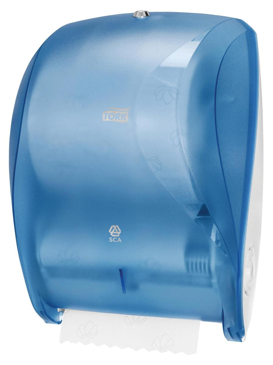 Tork Manual Hand Towel Roll Dispenser W425xD303x220mm Plastic Blue Ref 471050